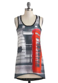 A London Deal Top - Modcloth