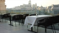 Recently opened a terrace in Palacio de Cibeles. Everyday from 10 to 2h. Probably nice idea for breakfast