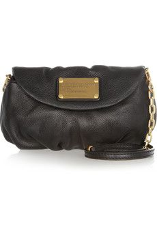 Marc by Marc Jacobs Classic Q Karlie textured-leather mini shoulder bag  | NET-A-PORTER