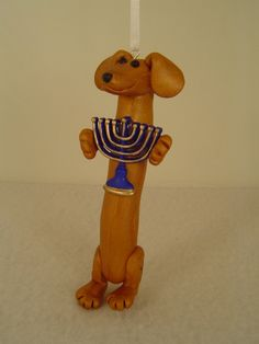 Red holding a Menorah