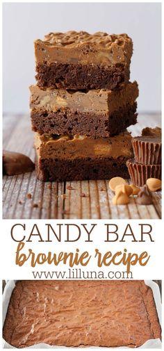 Mini Desserts, Sweet Desserts, Chocolate Desserts, Delicious Desserts, Oreo Dessert, Dessert Bars, Brownie Recipes, Cookie Recipes, Dessert Recipes