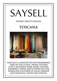 Toscana Woody 100 Incense Joss Sticks Agarbatti by Saysell #Saysell #Woody