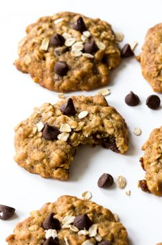 BANANA OATMEAL CHOCOLATE CHIP COOKIES Really nice recipes. Every  Mein Blog: Alles rund um die Themen Genuss & Geschmack  Kochen Backen Braten Vorspeisen Hauptgerichte und Desserts