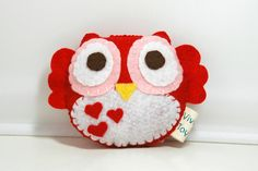 Hey, I found this really awesome Etsy listing at http://www.etsy.com/listing/121867380/love-owl-eco-friendly-plush-stuffed-toy