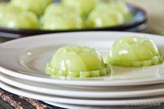 Pandan Agar Agar / Pandan Jelly - a delightful refreshing Malaysian dessert