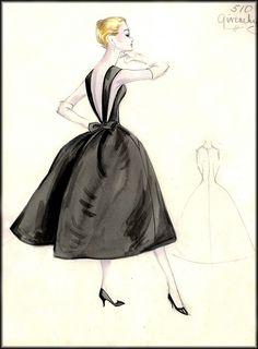 vintage Givenchy illustration
