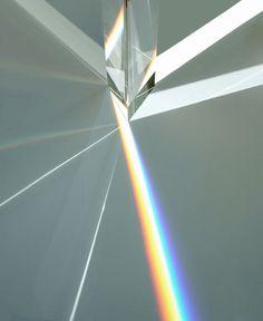 a detail of Rainbow Church by Tokujin Yoshioka