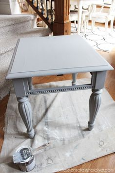 Sparrow by Behr - substitute for Annie Sloan Paris Grey