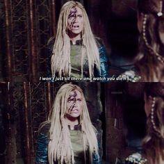 "#The100 3x04 ""Watch The Thrones"" - Clarke"