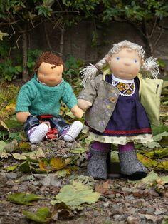 waldorf doll, waldorf inspired doll, lalka waldorfska, handmade doll