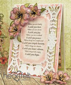 Heartfelt Creations   Victorian Lilies