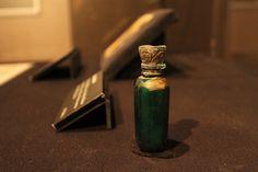 titanic artifact...pill bottle found in woman's purse.