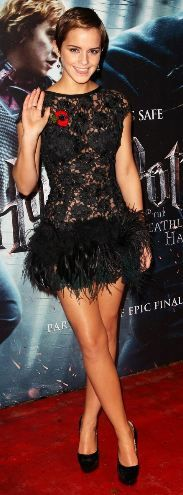 Love this dress she wore to a HP premiere