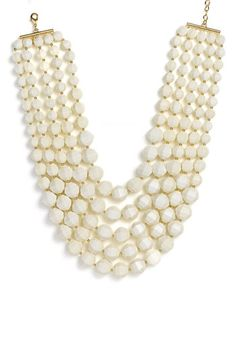 kate spade new york 'cut to the chase' bib statement necklace available at #Nordstrom