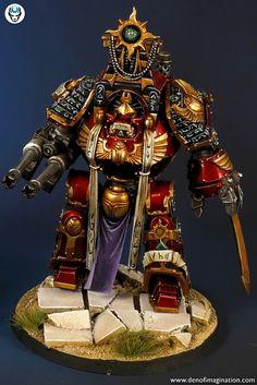 Warhammer Paint, Warhammer Models, Warhammer 40000, Sci Fi Miniatures, Warhammer 40k Miniatures, Chaos Legion, Miniature Painting Service, Chaos 40k, Thousand Sons