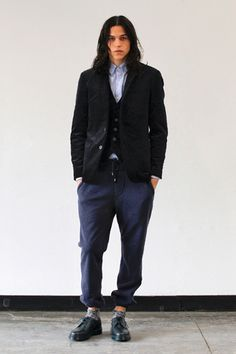 SHADES of GREY by Micah Cohen 2012 Fall/Winter Collection.
