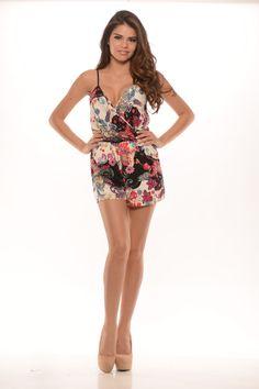 Mardi Gras Romper - $27.99 #FashionNova #Summer