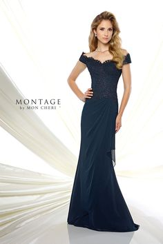 Modern Mother of the Bride dresses from the Montage collection by Mon Cheri feature modern sophistication in jacket sets or classic sleeveless options. Chiffon Skirt, Mon Cheri, Lace Bodice, Drop Waist, Beaded Lace, Types Of Sleeves, Mom Dress, Mother Of The Bride, Fit And Flare