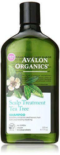 Avalon Organics Scalp Treatment Tea Tree Shampoo, 11 Ounce ** Want to know more, visit