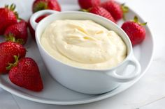 Orange Cream Fruit Dip Recipe from www.inspiredtaste.net #recipe #fruit