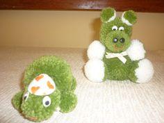 stilopink: minhas criações bichinhos de pompom