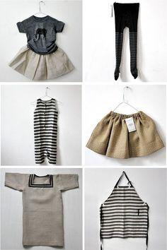navy stripe child fashion range