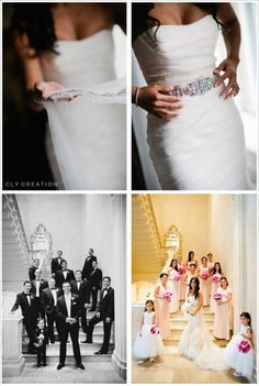 """weddinginspirasi:  Real bride Christine on her wedding to Dave wearing a Vera Wang Wedding dress """"Gemma"""" from the Fall 2011 Bridal Collection. Photographer 