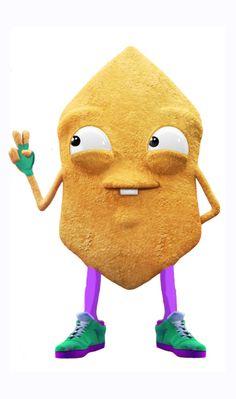 Crispy chip.