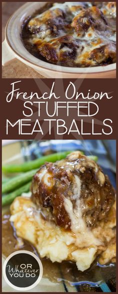 French Onion Stuffed Meatballs - This is not Paleo or GF but sounds like a fun experiment to make adjustments. My mouth was watering reading the recipe. Comfort Yum!