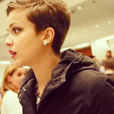 Proper Pixie Cuts: Photo
