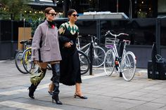 The Best Street Style Photos From Stockholm Fashion Week | POLYCHROME | Menswear patterns | print | pattern | fashion trend | Womens fashion & trend | Stockholm | street style