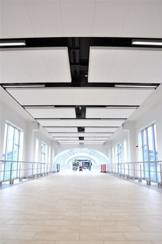 Ecophon is a leading, global supplier of sound absorbing ceilings and wall… Ceiling Plan, Open Ceiling, Dropped Ceiling, Ceiling Panels, Office Ceiling Design, False Ceiling Design, Hall Interior Design, Interior Architecture, Space Interiors