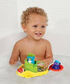 Take a look at this Tug Along Boat Set on zulily today!  $11.99, 2yrs and up