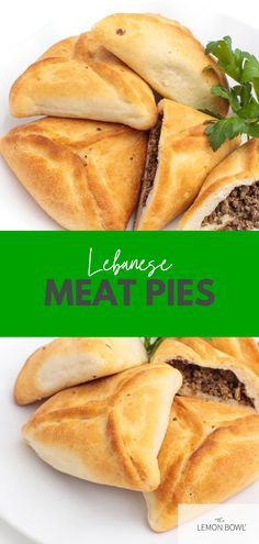 These savory, delicious Lebanese meat pies are the perfect appetizer or meal. They get their flavor from clarified butter, toasted pine nuts and fragrant cinnamon.