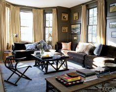 love this!  Home of Ali Wentworth and George Stephanopoulos in Elle Decor.