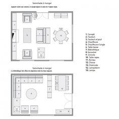 Aménager un salon/salle à manger