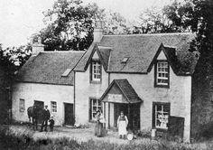 Tour Scotland Photographs: Old Photograph Donald McNiven Shop Taynuilt Scotland