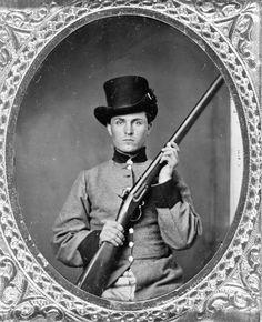 The Civil War Parlor, Private Isaiah Presley Markham,56th North Carolina