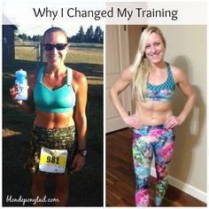 Why I Changed the Way I Train.