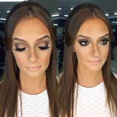 #makeup #beauty #bronze #lashes #penteados #hair #casamento