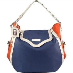 Littlearth by Niki Chu Denver Broncos Suite Hobo Bag