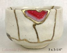 Buy Kintsugi / Kintsukuroi pottery gift for sale at our online gallery Japanese Bowls, Japanese Ceramics, Japanese Pottery, Kintsugi, Ceramic Pottery, Pottery Art, Ceramic Art, Traditional Japanese Art, Make Do And Mend