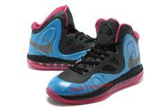 e09e10e64567 Nike Air Max Hyperposite Stoudemire Shoes Blue Black Pink