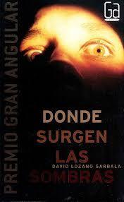 """Ficha de lectura de """"Donde surgen las sombras"""" de David Lozano, realizada por Victoria Crespo"""