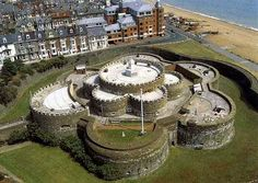 Deal Castle | deal castle from the air deal castle is part of henry viii s great ...