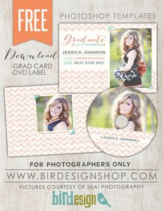 August FREE Photoshop template! | Photoshop templates for photographers by Birdesign