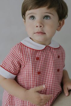 Eli Bubble- Red Gingham