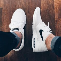 "standingelements: "" Apologies to the rest of the collection, I'll be wearing only these for the immediate future. @nikesb Janoski Max  """