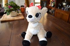 Rudolph The Red Nosed Reindeer Clarice SO CUTE WANT IT!