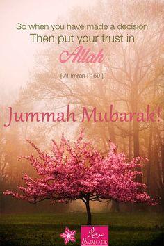 #JummahMubarak #BlessedDay!